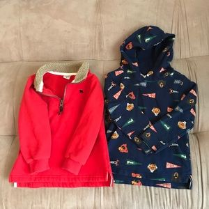 Twin boys closet! 2 Carter's sweaters
